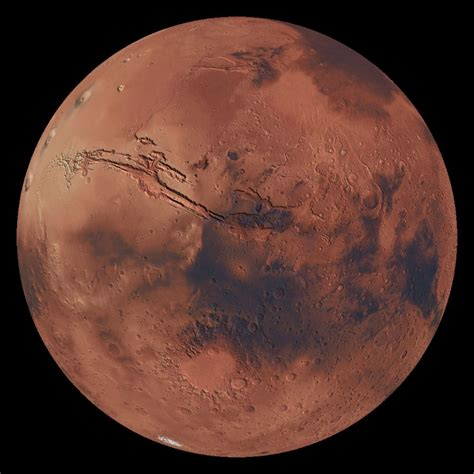 Invisible Mars Dataset | Science On a Sphere