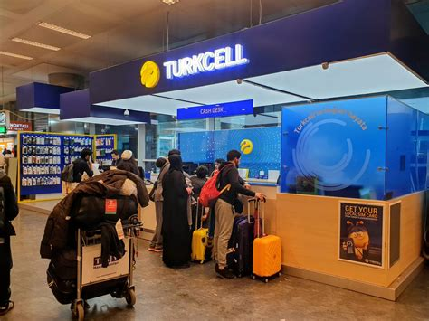 Buying a SIM Card in Turkey - Roaming Required