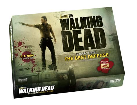 The Walking Dead Board Game: The Best Defense   Cryptozoic