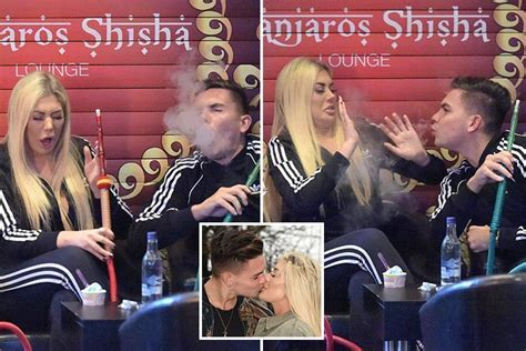 Geordie Shore lovebirds Sam Gowland and Chloe Ferry can't