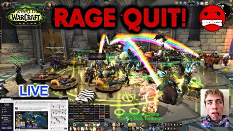 """Sodapoppin """"LIVE"""" Rage Quit's AND Wipe's VS Ruin Gaming"""