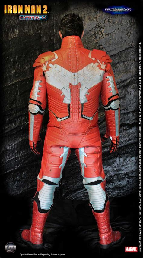 Iron Man 2 Motorcycle Suit Now Available - autoevolution