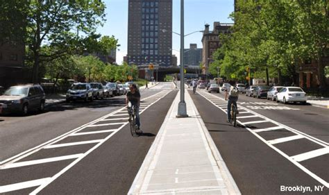 Sands Street Bicycle Path and Greenstreet, New York City