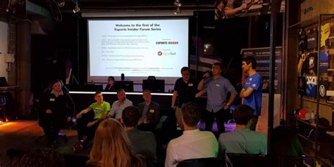 Esports Insider's Forum launches to a packed Fnatic Bunkr