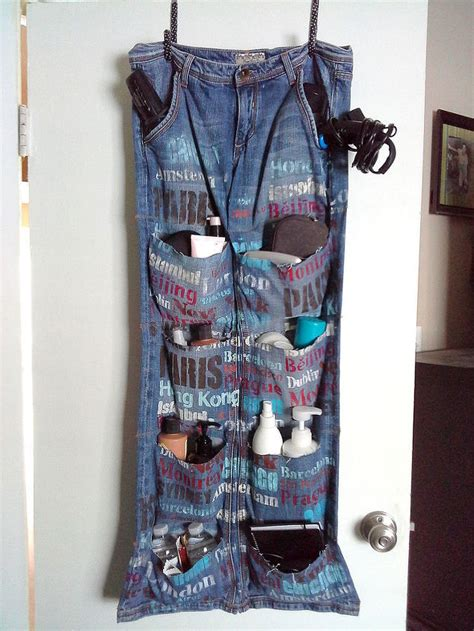 Brilliant And Creative Ways To Upcycle Denim Into Home
