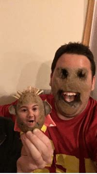 #Funny Potato Face Swap Has to Be the Most Terrifying One