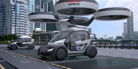 Airbus' Giant Car-Carrying Drone Is Our New Favourite Way