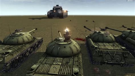 RATTE P1000 VS Red army MOW AS 2 - YouTube