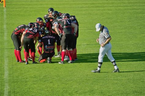 American Football In Germany Editorial Image - Image of