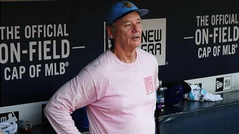 Bill Murray Owns a Minor League Baseball Team and Partied