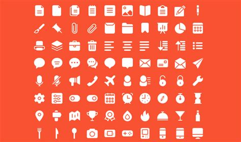 Free Download : 440 Line & Solid Icons (psd