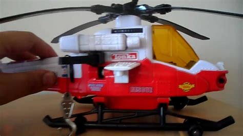 TONKA TOYS BEST WHITE AIR RESCUE HELICOPTER TOY LIGHTS