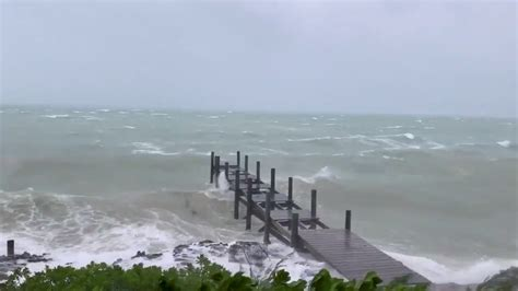 Stalled Over the Bahamas, Hurricane Dorian Reveals Its