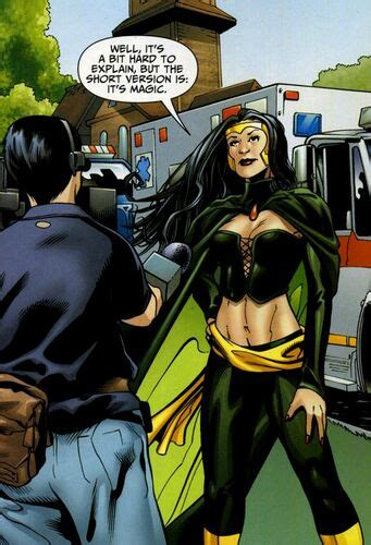 June Moone (New Earth) | DC Database | FANDOM powered by Wikia