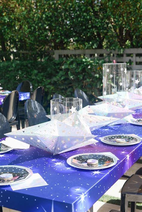 """Kara's Party Ideas Galactic """"Out of this World"""" Birthday"""
