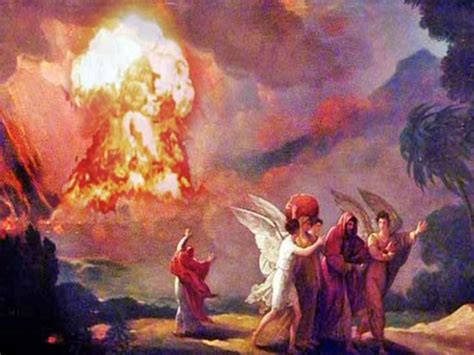 The Annihilation of Sodom and Gomorrah and the Creation of