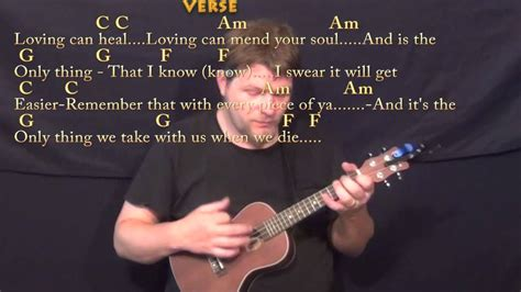 Photograph (Ed Sheeran) Ukulele Cover Lesson in C with
